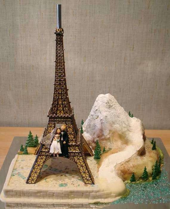 Most Attractive Wedding Cakes Decorated Concepts 2014 (1)