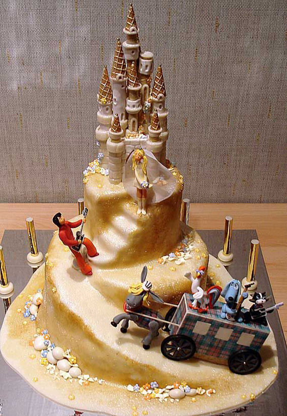 Most Attractive Wedding Cakes Decorated Concepts 2014 (3)