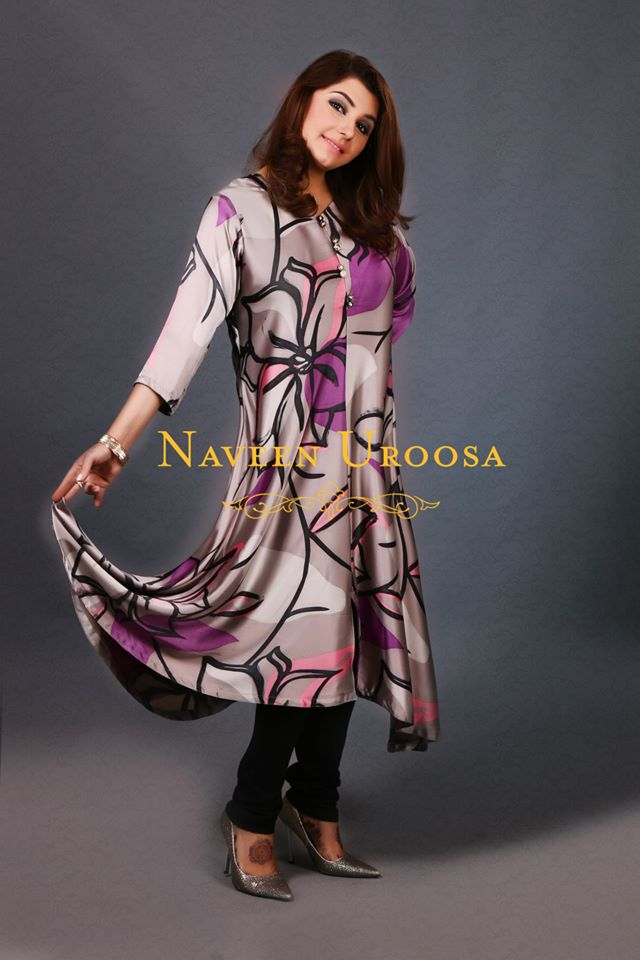 Naveen Uroosa Summer Fashion Outfits 2014 For Ladies (12)