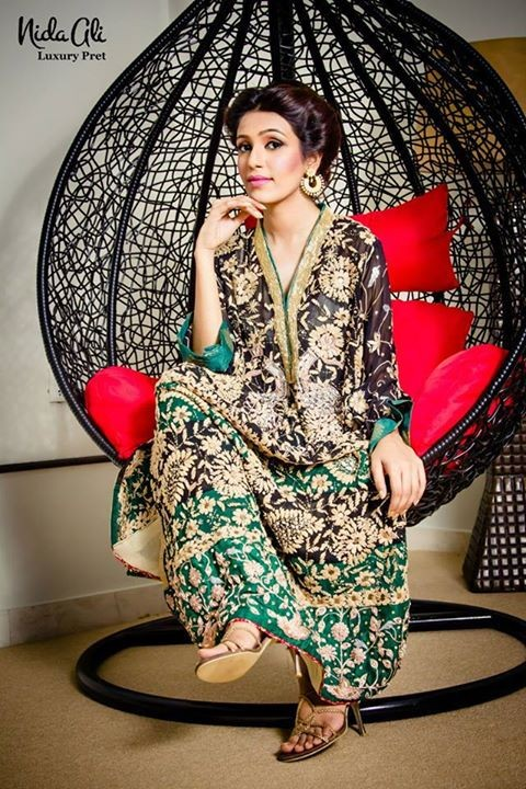 Nida Ali Luxury Pret 2014 for Women 4