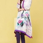 Nishat linen summer dress collection 2014 2