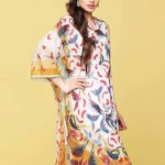 Nishat linen summer dress collection 2014 3