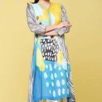 Nishat linen summer dress collection 2014 4