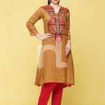 Nishat linen summer dress collection 2014 6