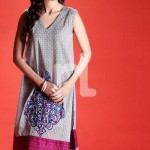 Nishat linen summer dress collection 2014 6v