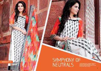 Phulkari by Taana Baana new collection 2014 4