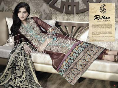 Raniya Summer Collection 2014-Vol.1 By Rujhan Fabrics 1
