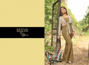 Reeva Designer Embroidered Collection 2014 16