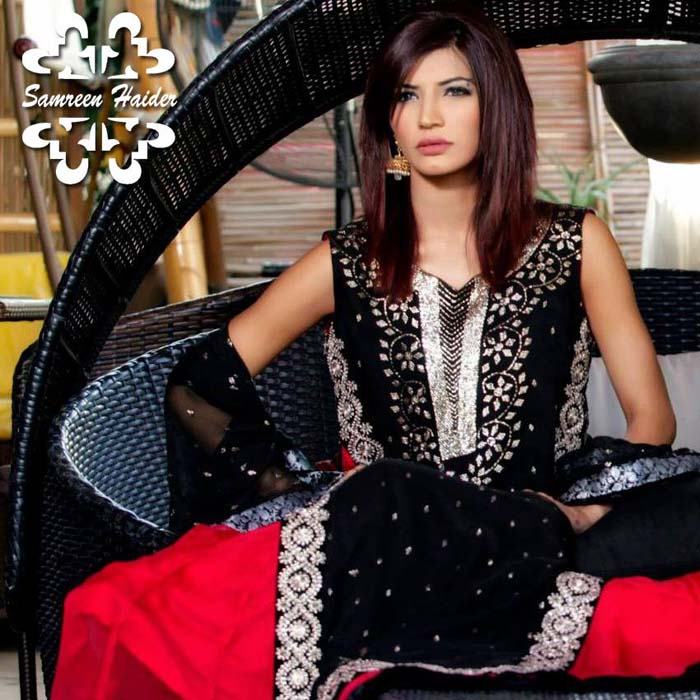 SamreenHaider Semi-Formal Gorgeous Outfits 2014 For Teenagers (9)