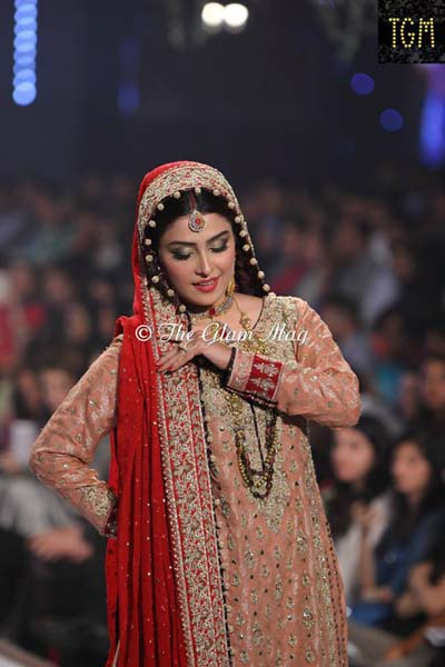 Sana Abbas at Pantene Bridal Couture Week 2014 PBCW2014 21