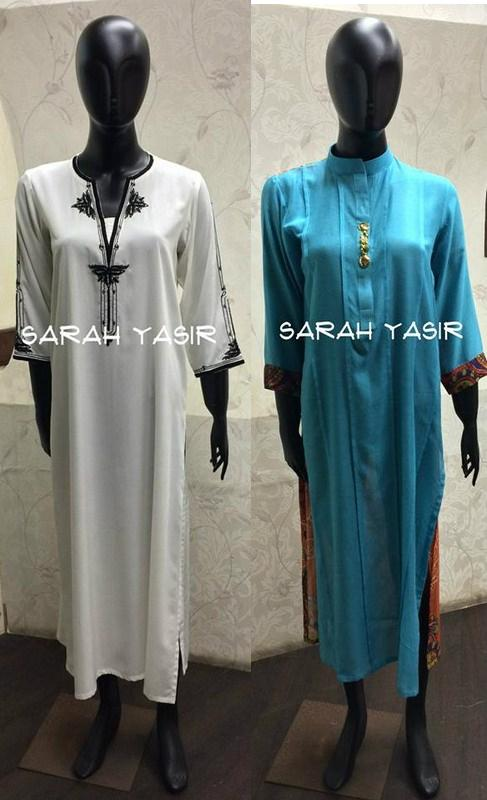 Sarah Yasir Summer Dresses 2014 For Women 1
