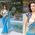 Saree blouse and lehenga 2014