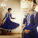 Semi Stitched Anarkali Dresses Collection 2014 1