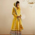 Semi Stitched Anarkali Dresses Collection 2014 8