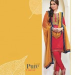 Shades - Cotton Designer Salwar Kameez with Pure Chiffon Dupatta 77