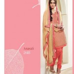 Shades - Cotton Designer Salwar Kameez with Pure Chiffon Dupatta 6