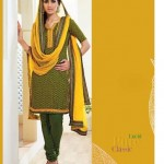 Shades - Cotton Designer Salwar Kameez with Pure Chiffon Dupatta 7