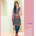 Shades - Cotton Designer Salwar Kameez with Pure Chiffon Dupatta 8