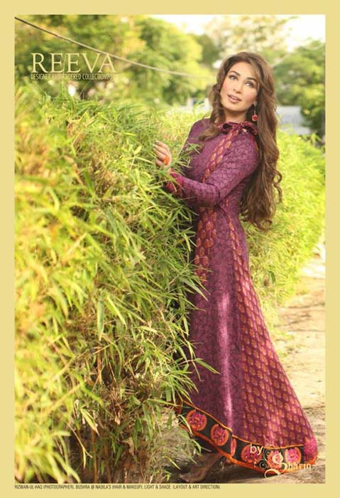 Shariq Textiles Reeva Lawn Dresses Variety 2014 For Females (7)