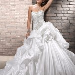 Strapless Ball Gown Wedding Dresses - Stylish and Elegant (7)