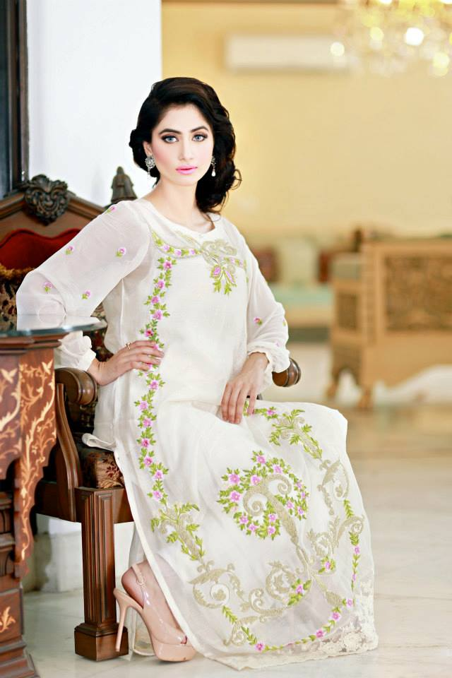 Suffuse by Sana Yasir Summer Dresses 2014 For Girls 3