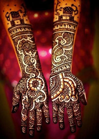 Trendy Arabic Henna Designs 2014 (4)
