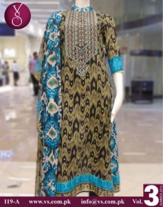 VS Textile Mills Design summer dress collection 2014 1