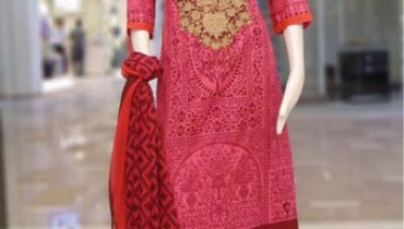 VS Textile Mills Design summer dress collection 2014 10