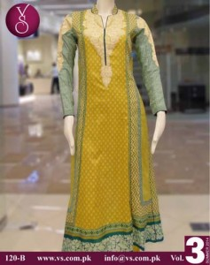 VS Textile Mills Design summer dress collection 2014 4