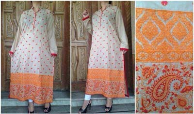 Vibgyor By Syra  Summer Eid Dresses Fashion 2014 6