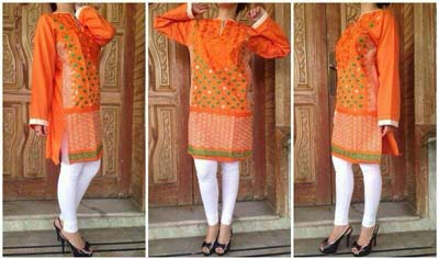 Vibgyor By Syra Summer Eid Dresses Fashion 2014