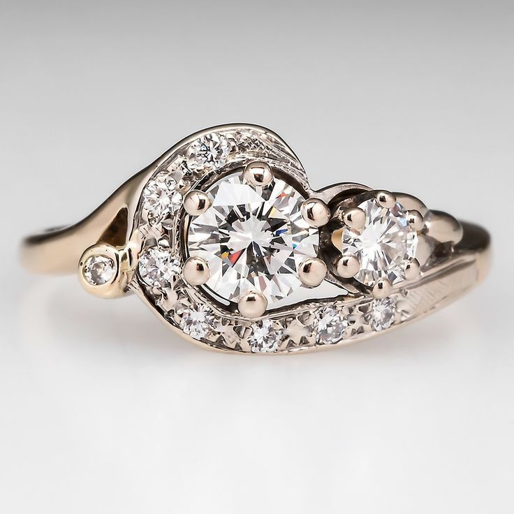 Vintage Design and Style Wedding Rings In Trend Just as before (1)