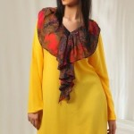 Yellow Casual Wear Dresses 2014 For Women 1