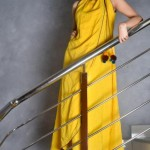 Yellow Casual Wear Dresses 2014 For Women