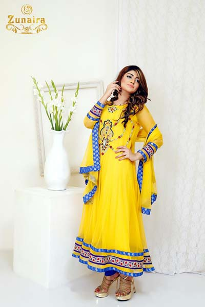Zunaira's Lounge new fashion collection 2014