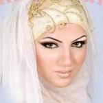 bridal hijab Collection 2014 1