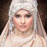 bridal hijab Collection 2014 3