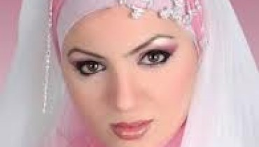 bridal hijab Collection 2014