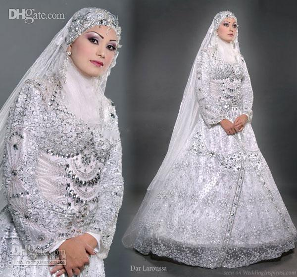 bridal hijab Collection 2014 4