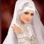 bridal hijab Collection 2014 5