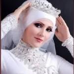 bridal hijab Collection 2014 8