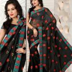 exclusive saree trend