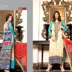 karam Collection 2014 VOL-2 by jubilee cloth mil 13