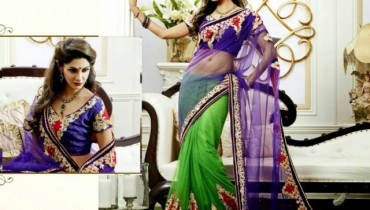latest trendy wedding sarees42