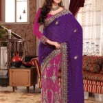 AGNI Marriage ceremony Saree Variations 2014 Avalon Clothes Wedding Outfits (4)