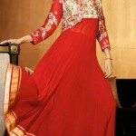 Anarkali Brand New Celebration Shilpa Shetty Use Frocks Styles 2014 (1)