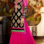 Anarkali Brand New Celebration Shilpa Shetty Use Frocks Styles 2014 (4)