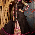 Anarkali Brand New Celebration Shilpa Shetty Use Frocks Styles 2014 (6)