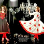 Anarkali Fashionable Garments For Females Eid Selection 2014 (3)