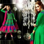 Anarkali Fashionable Garments For Females Eid Selection 2014 (5)